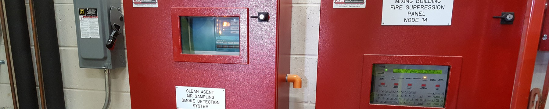 Flame, Gas, Heat, Smoke, Fire Detection Systems